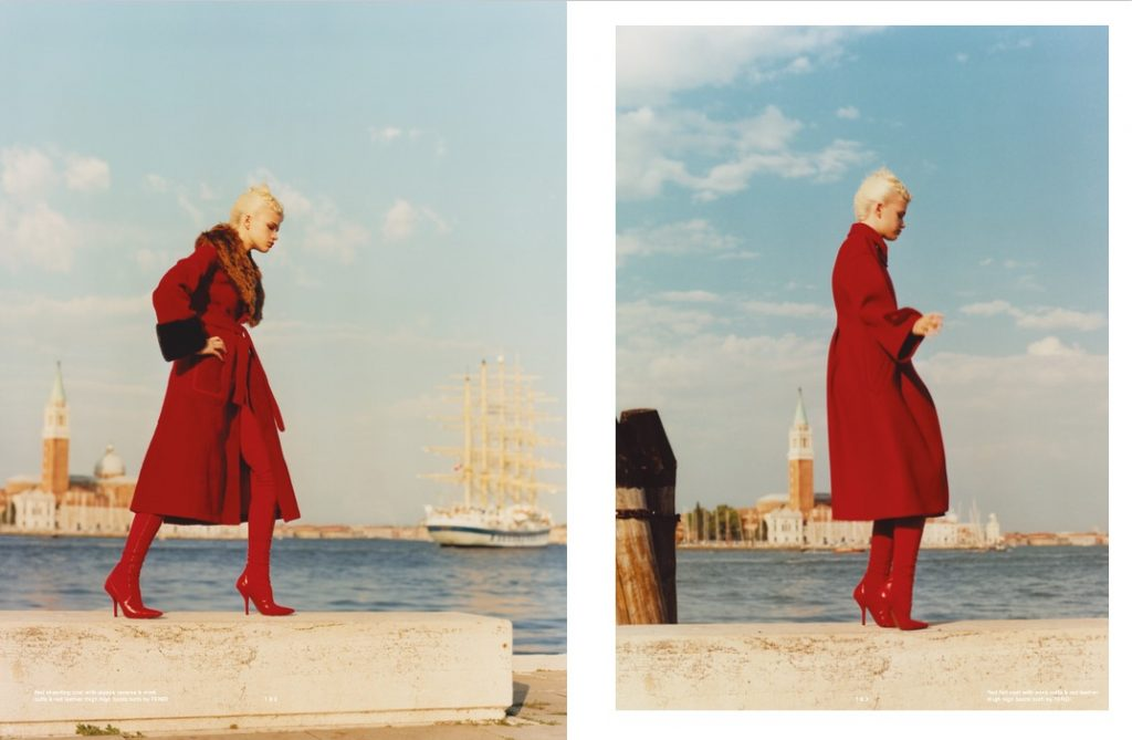 POP MAGAZINE - October 2017 Photographer: Sean & Seng Model: Stella Lucia Location: Venice, Italy