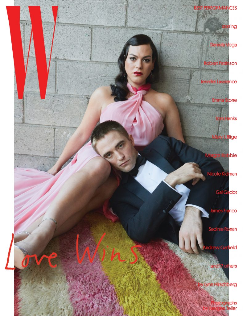 W MAGAZINE - January 2018 - Best Performances  Photographer: Juergen Teller Location: Los Angeles, California