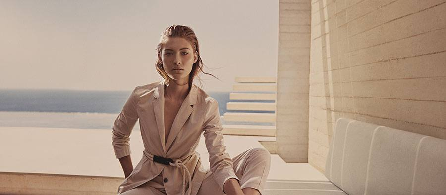 HUGO BOSS - Spring Summer 2018 Photographer: Glen Luchford Stylist: Beat Bolliger Location: Greece