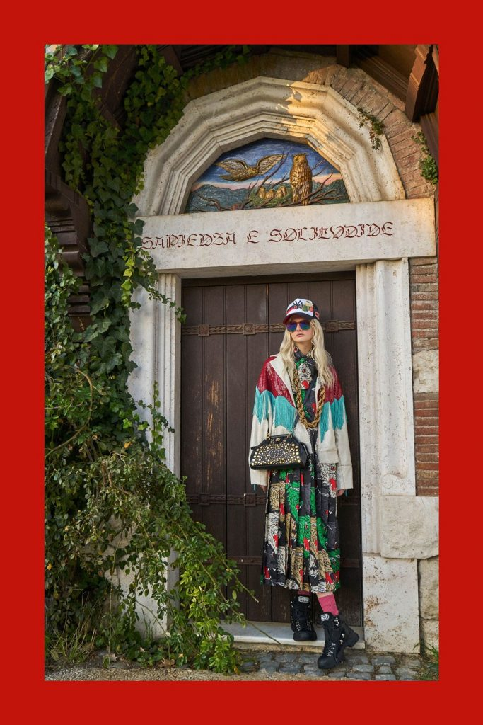 GUCCI - Women's Pre-Fall 2018 Look Book Photographer: Peter Schlesinger