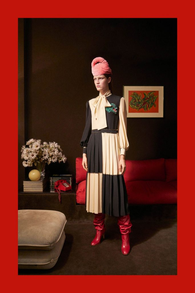 028cf4ef ... GUCCI - Women's Pre-Fall 2018 Look Book Photographer: Peter Schlesinger  ...