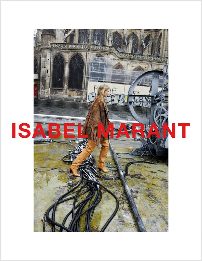 ISABEL MARANT - Fall Winter 2018 Photographer: Juergen Teller Location: Paris, France