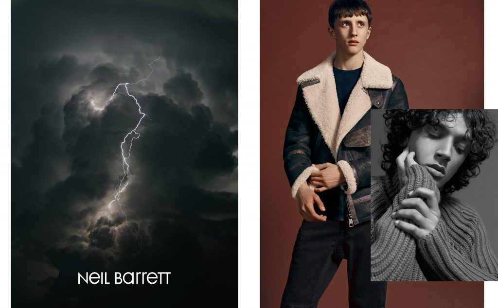 NEIL BARRETT - Autumn Winter 2018 Photographer: Dario Catellani Stylist: Katie England