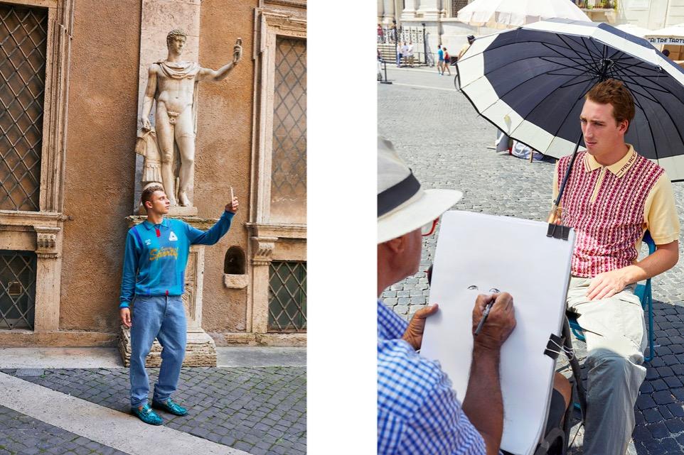 PALACE - Autumn 2018 Photographer: Juergen Teller Location: Rome, Italy