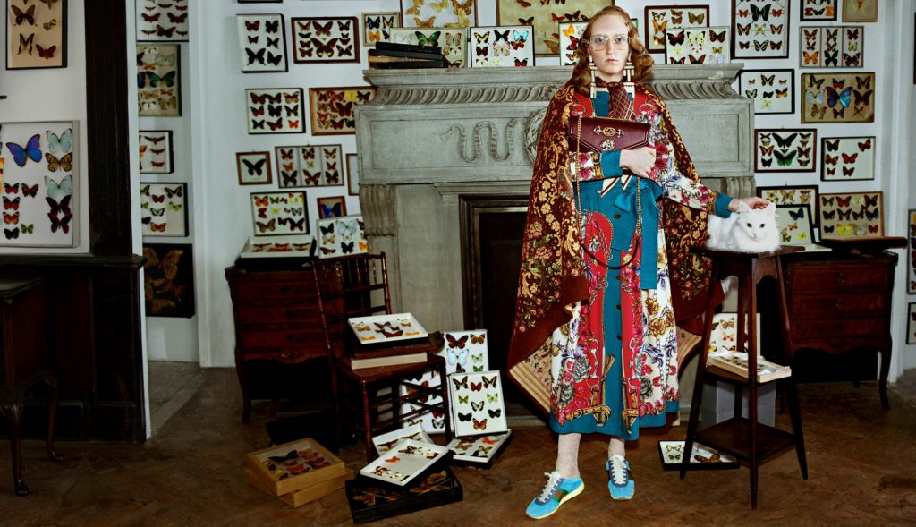 GUCCI - Fall Winter 2018 - Gucci Collectors Photographer: Glen Luchford