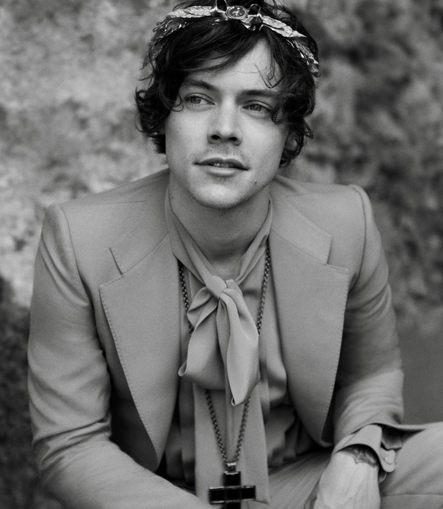 GUCCI - Men's Tailoring Photographer: Glen Luchford Model: Harry Styles