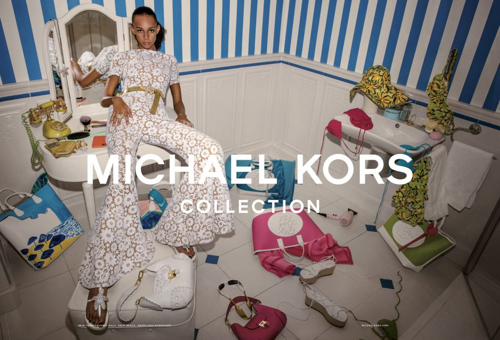 MICHAEL KORS - SP 2019 Photographer: Inez & Vinoodh Model: Binx Stylist: Paul Cavavo Location: Nice - FR