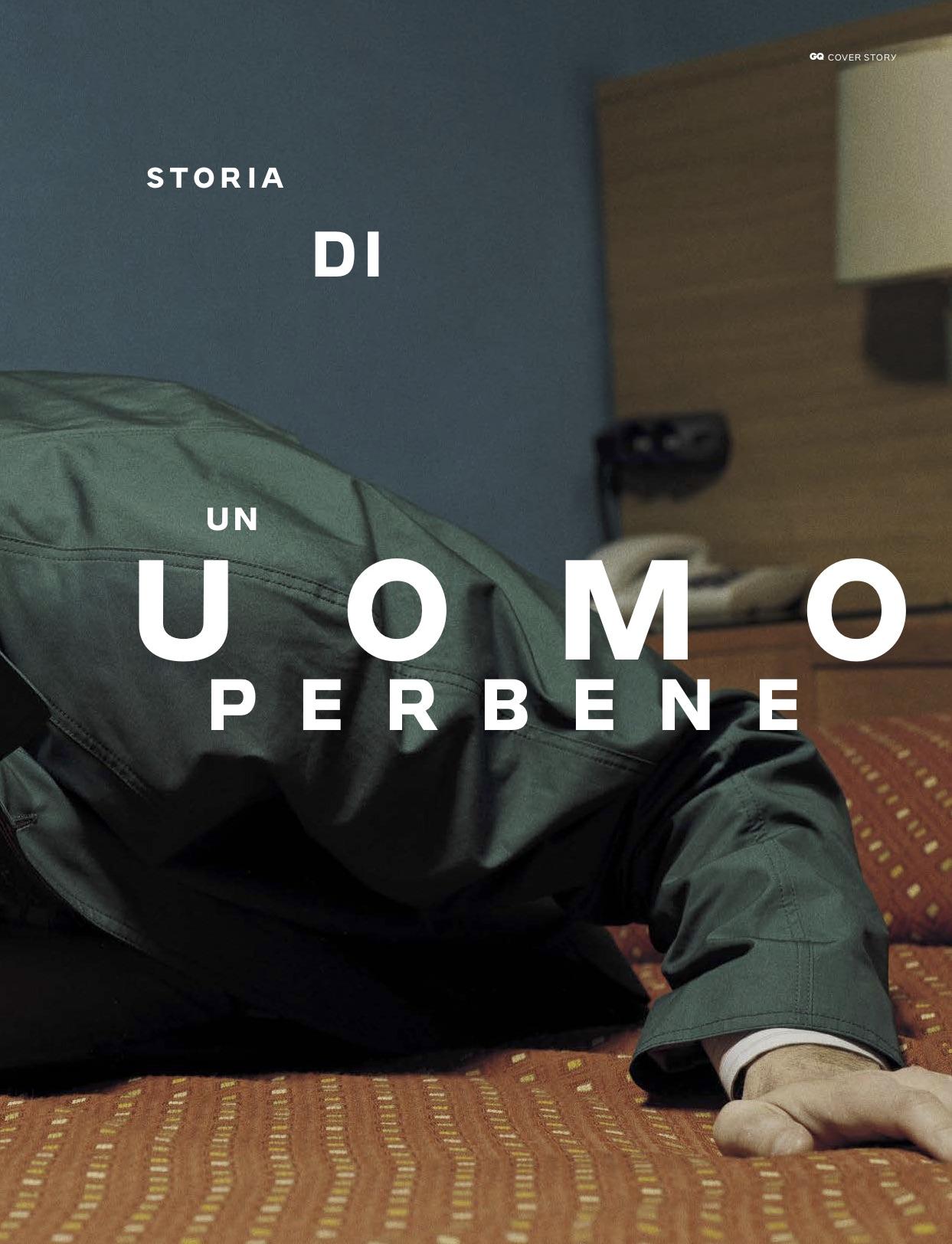 GQ ITALIA - Marzo 2019 Photographer: Philip Gay Model: Alessandro Borghi
