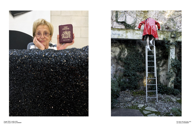 RE-EDITION - Burberry Special SS 2019 Photographer: Jurgen Teller Model: Eva Herzigová, Lily McMenamy, Riccardo Tisci,  Location: London