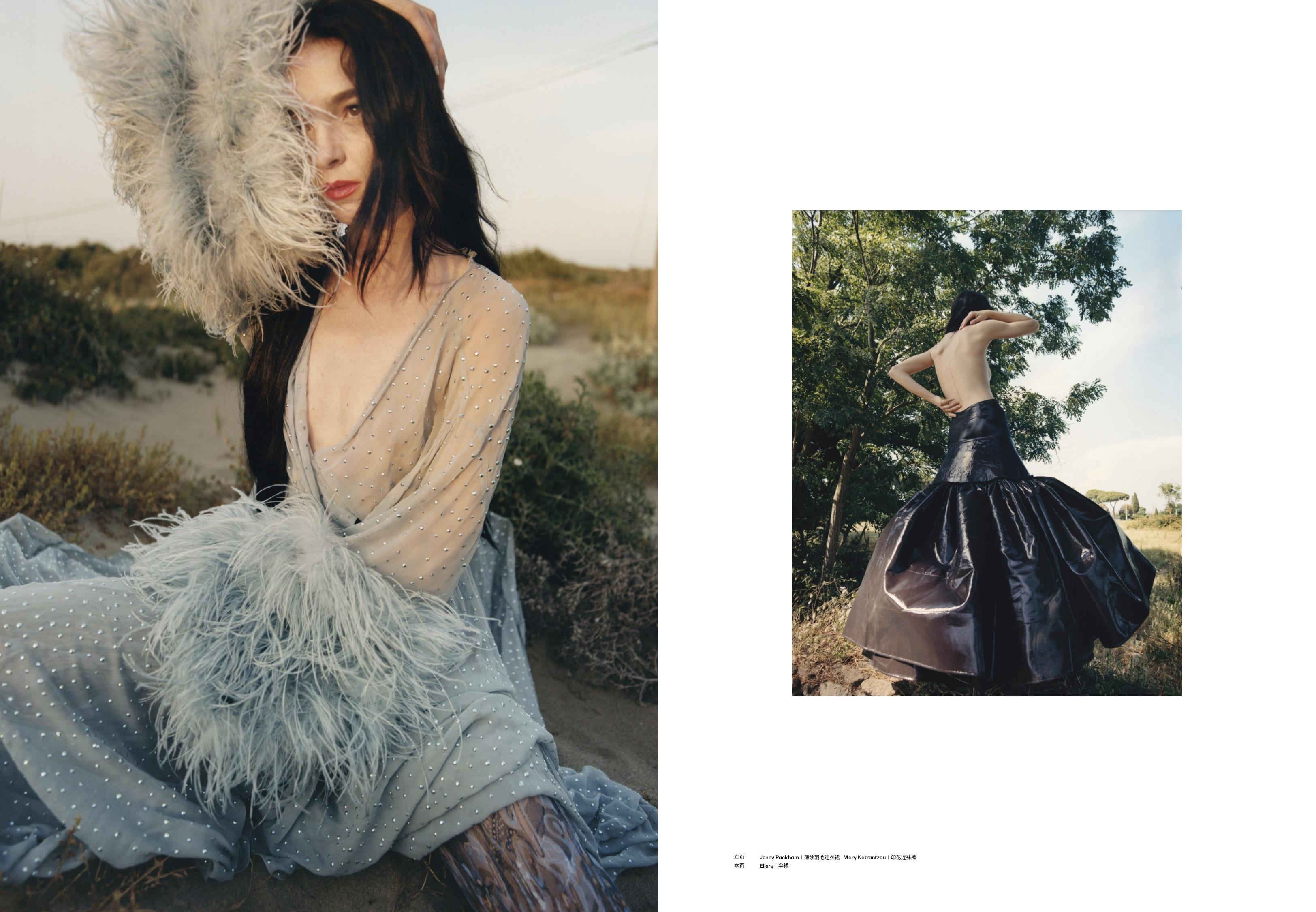 MODERN WEEKLY - 2019 Photographer: Nadine Ijewere Model: Mariacarla Boscono Stylist: Nathan Klein Location: Rome