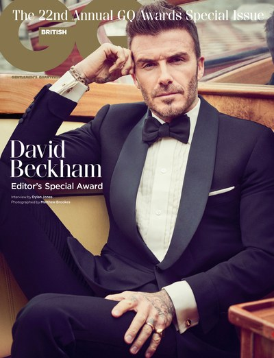 GQ UK - On location in Venice with David Beckham Photographer: Matthew Brookes Model: David Beckham Stylist: Cathy Kasterine Location: Venice, Italy